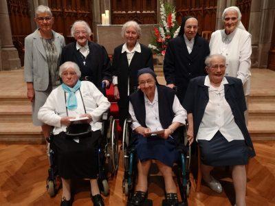 Jubilé des Soeurs de 70 et 75 ans de vie religieuse