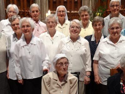Jubilé des Soeurs de 60 ans de vie religieuse