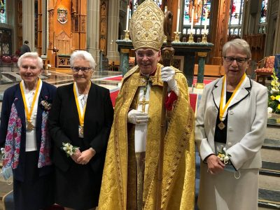 Diocese Honors Three Sisters
