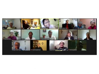 International meeting by video conference